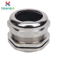 Buy cheap Metallic IP65 Watertight Cable Gland / Electrical Cable Gland With Through Type from wholesalers