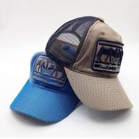 Buy cheap 3D Embroidered 5 Panel Trucker Cap For Men 56~60 Cm Size Cotton Nylon Material from wholesalers