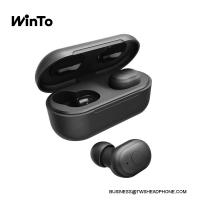 Buy cheap T11 Bluetooth 5.0 wireless earbuds, 6h continuous play for one charge, deep bass crystal clear sound from wholesalers