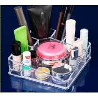 Buy cheap acrylic makeup organizer case cosmetic display holder from wholesalers