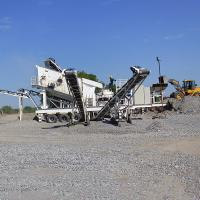 Buy cheap AC Motor Mobile Jaw Crusher , Rock Crushing Machine 100-120t/h For Stone Crusher Plant from wholesalers