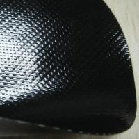 Buy cheap 0.5mm Glossy Black Anti-Scratch PVC Coated Fabric for Bags from wholesalers