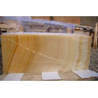 Buy cheap Honey Marble Onyx Stone tiles / Slab , onyx vanity tops for bathroom , kitchen from wholesalers