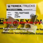 Buy cheap TEREX 15271443 PIVOT OFF HIGHWAY DUMP TRUCK TR35 TR50 TR60 TR100 3305B 3305F 3303 3307 TR45 TR70 MT4400 CUMMINS ALLISON from wholesalers