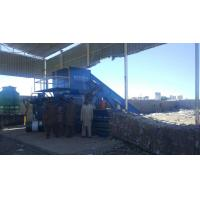 Buy cheap Plastic bottle baler/ horizontal waste paper baler/ carton baler from wholesalers