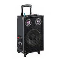Buy cheap Led Disco Light Tweeter Rechargeable Dj Bluetooth Speaker For Karaoke / Dancing from wholesalers