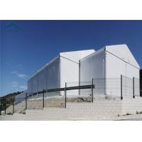 Buy cheap White Aluminium Frame Canopy Tents With  Waterproof PVC Fabric Width 15m from wholesalers