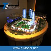 Buy cheap 1/100 ABS plastic scale architecture building model for sale, miniature architectural model from wholesalers