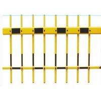 Buy cheap Yellow Color Fence Barrier Gate Arm , 100 x 45mm Aluminum Gate Arms product