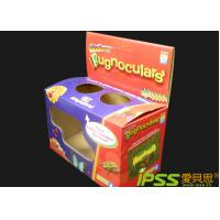 Buy cheap Display Cardboard Boxes White Cardboard + Kraft Corrugated Pape from wholesalers