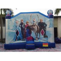 Buy cheap Large Frozen Princess Happy Hop Inflatable Bounce House Inside Slide from wholesalers