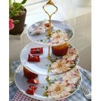 Buy cheap Afternoon-tea set fruit bowl creative european-style bone porcelain plate from wholesalers
