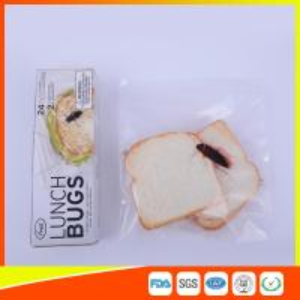 Ziplock Airtight Plastic Sandwich Bags Transparent Eco Friendly Custom Printed