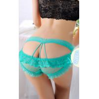 Buy cheap Women's triangle thong,Ray Lace G-string For Lady,Girls  Sexy T-back Fashion Sexy Underwea from wholesalers