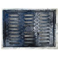 Buy cheap B125 EN124 Cast Iron Trench Drain Grates Anti Rust For Municipal Construction from wholesalers