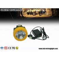 Buy cheap Colorful 6000 Lux anti explosive coredless hard hat headlamp 230 mA main light current from wholesalers