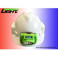 Buy cheap ABS PC Material Coal Mining Lights , Led Mining Cap Lamp 6.8Ah Battery 3.7v from wholesalers