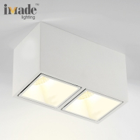 China Gold Supplier Surface Mounted Square LED Downlight For hong kong international lighting fair hktdc on sale