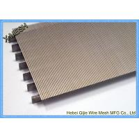 Buy cheap Heavy Gauge Metal Wire Mesh , Stainless Steel Grid Mesh Strainer Basket Wedge Wire Slotted from wholesalers