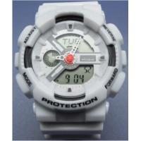 Buy cheap G Shock Sports Analog-digital Watches Large Face Silicone Rubber Band from wholesalers