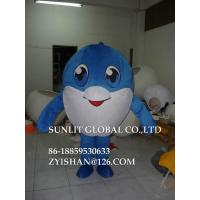 Buy cheap huge body dolphin mascot costume/customized fur sea animal mascot costume from wholesalers