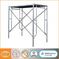 Buy cheap Multifunctional Mobile platform Galvanized ladder frame scaffolding system from wholesalers