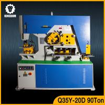 Buy cheap Shanghai Kingdom high quality Dual Cylinders Sheet Metal Hydraulic Ironworker Q35Y-20 Q35Y-25 from wholesalers