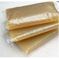 Buy cheap Hot Melt Animal Jelly Yellow Hot Glue For Book Binding Corn Starch Material from wholesalers