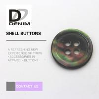 Buy cheap Multicolor Pearl Shell Buttons 4 Holes For Baby Clothing / Woolen Sweater from wholesalers