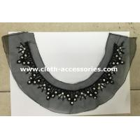 Buy cheap 18CM Winter Beaded Neck Trim with Glass Beads , Glass Beads , Arylic Diamond from wholesalers