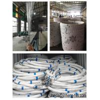 Buy cheap Factory PRICE galvanized steel wire for fishing cages 19 # 1.06 black sticky tape 45kg per coil from wholesalers