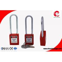 Buy cheap Custom 76mm Long Shackle Safety Lockout Padlock for Industrial Security from wholesalers
