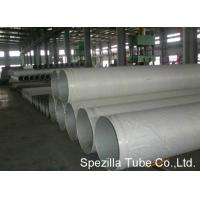 Buy cheap UNS S31009 Stainless Steel Round Tube ANSI B36.19 TP 310H ERW Pipe TIG Welding from wholesalers