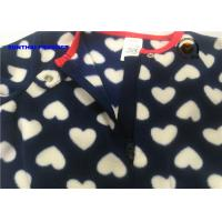 Buy cheap Heart Print Baby Fleece Pram Suit And Hat Sets For Girls OEM / ODM Available from wholesalers
