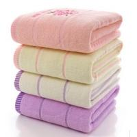 Buy cheap Comfortable Plain Weave Soft Face Towels Decorative With Digital Printing from wholesalers