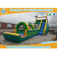 Buy cheap Funny Outdoor Playground Giant Backyard Inflatable Water Slide Double Tripple Stitch from wholesalers