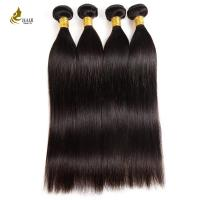 China 10A Weave Hair Bundles Natural Color , Smooth Straight Virgin Keratin Hair Extensions on sale