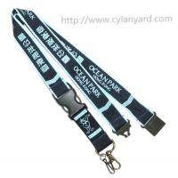 Buy cheap Printed brand logo neck lanyards, China lanyard manufacturer for custom id badge lanyards from wholesalers
