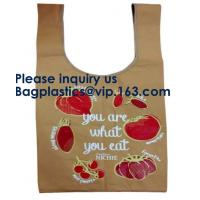Buy cheap Recyclable Customized Printing Handbag Brown Tyvek Tote Bag Natural Tyvek Paper Shopping Bag, Bagease, Bagplastics from wholesalers