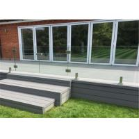 Buy cheap Outdoor railing Tempered Glass Stainless Steel Spigot deck railings from wholesalers