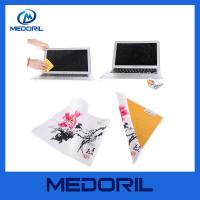 Buy cheap Custom logo microfiber cleaning cloth for computer product