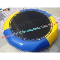 Buy cheap Durable Commercial Inflatable Water Toys / Inflatable Water Trampoline from wholesalers