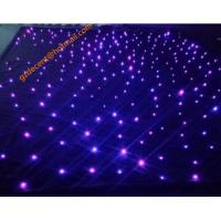 Buy cheap Wholesale Stage Lighting Wedding  Party Event Backdrop Velvet Fabric  LED Starlit Cloth product