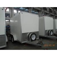 Buy cheap Enclosed Cargo Trailer 10x6x7 Language Option  French from wholesalers