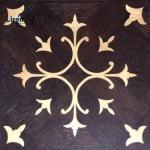 Buy cheap wood metal inlay wood brass steel inlay parquet cheap wood parquet flooring oak parquet walnut teak 600mm 15mm thickness from wholesalers