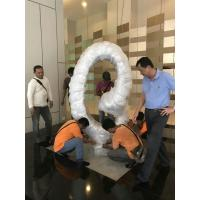 Buy cheap Polished Surface Circle Shape Abstract Outdoor Sculpture For Malaysia Hotel Decoration from wholesalers