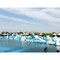 Buy cheap Durable PVC Tarpaulin Floating Inflatable Water Park Commercial For Resort from wholesalers