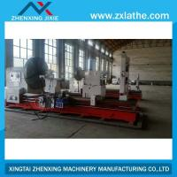 Buy cheap CW6180A large pipe cutting cnc lathe machine for taper thread cutting from wholesalers