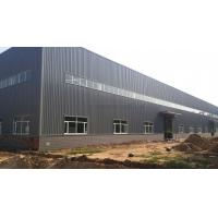Buy cheap Corrugated Steel Cladding Sheet Warehouse Steel Structure Buildings With Overhead Crane from wholesalers