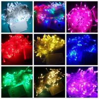Buy cheap 9 colors 100 LED 10M christmas wedding String Fairy Lights Christmas led light UK US AU EU Plug from Wholesalers
